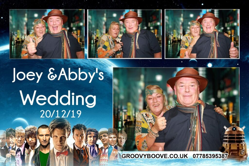 Party Photo Booth Hire in Merseyside Groovyboove